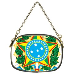 Coat of Arms of Brazil Chain Purses (One Side)