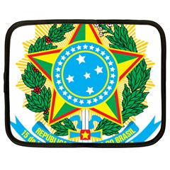 Coat of Arms of Brazil Netbook Case (XL)