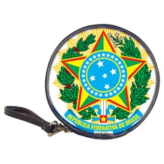 Coat of Arms of Brazil Classic 20-CD Wallets