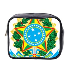Coat of Arms of Brazil Mini Toiletries Bag 2-Side