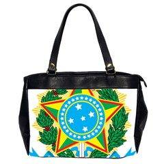 Coat of Arms of Brazil Office Handbags (2 Sides)
