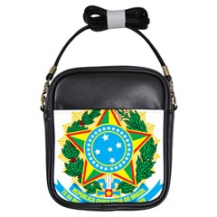 Coat of Arms of Brazil Girls Sling Bags