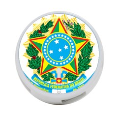 Coat of Arms of Brazil 4-Port USB Hub (Two Sides)