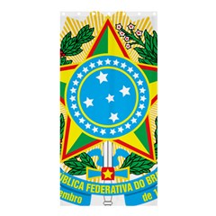 Coat of Arms of Brazil Shower Curtain 36  x 72  (Stall)