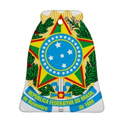 Coat of Arms of Brazil Bell Ornament (2 Sides)