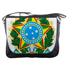 Coat of Arms of Brazil Messenger Bags