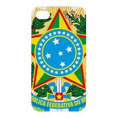 Coat of Arms of Brazil Apple iPhone 4/4S Premium Hardshell Case