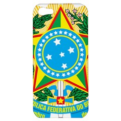 Coat of Arms of Brazil Apple iPhone 5 Hardshell Case