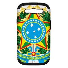 Coat of Arms of Brazil Samsung Galaxy S III Hardshell Case (PC+Silicone)