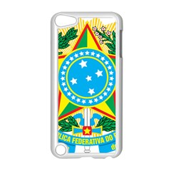 Coat of Arms of Brazil Apple iPod Touch 5 Case (White)