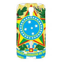 Coat of Arms of Brazil Samsung Galaxy S4 I9500/I9505 Hardshell Case