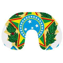 Coat of Arms of Brazil Travel Neck Pillows
