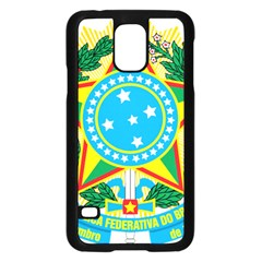 Coat of Arms of Brazil Samsung Galaxy S5 Case (Black)
