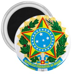 Coat of Arms of Brazil, 1971-1992 3  Magnets