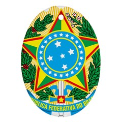 Coat of Arms of Brazil, 1971-1992 Ornament (Oval)