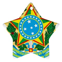 Coat of Arms of Brazil, 1971-1992 Ornament (Star)