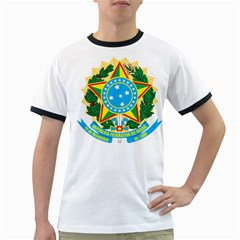 Coat of Arms of Brazil, 1971-1992 Ringer T-Shirts