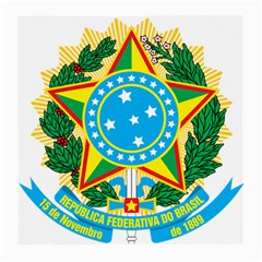 Coat of Arms of Brazil, 1971-1992 Medium Glasses Cloth (2-Side)