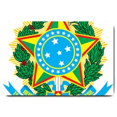 Coat of Arms of Brazil, 1971-1992 Large Doormat