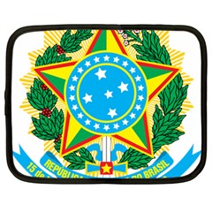 Coat of Arms of Brazil, 1971-1992 Netbook Case (Large)