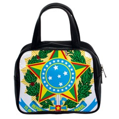Coat of Arms of Brazil, 1971-1992 Classic Handbags (2 Sides)