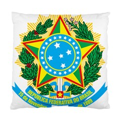 Coat of Arms of Brazil, 1971-1992 Standard Cushion Case (Two Sides)