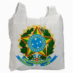 Coat of Arms of Brazil, 1971-1992 Recycle Bag (One Side)