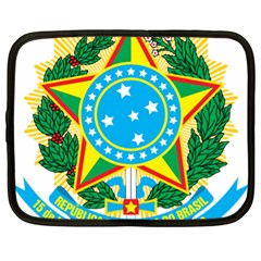 Coat of Arms of Brazil, 1971-1992 Netbook Case (XL)