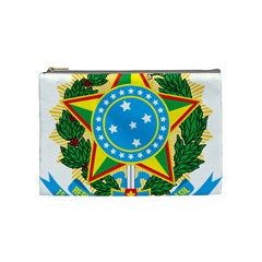 Coat of Arms of Brazil, 1971-1992 Cosmetic Bag (Medium)