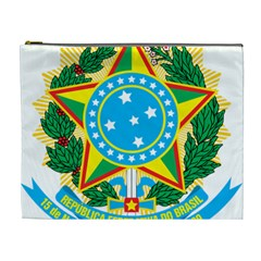 Coat of Arms of Brazil, 1971-1992 Cosmetic Bag (XL)