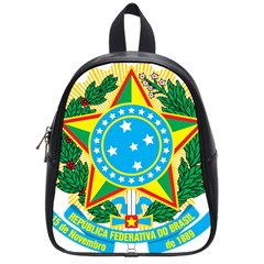 Coat of Arms of Brazil, 1971-1992 School Bags (Small)