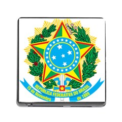 Coat Of Arms Of Brazil, 1971 1992 Memory Card Reader (square)