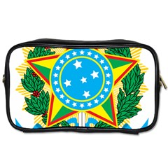 Coat of Arms of Brazil, 1971-1992 Toiletries Bags 2-Side