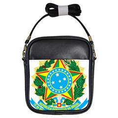 Coat of Arms of Brazil, 1971-1992 Girls Sling Bags