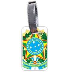 Coat of Arms of Brazil, 1971-1992 Luggage Tags (One Side)