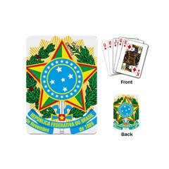 Coat of Arms of Brazil, 1971-1992 Playing Cards (Mini)
