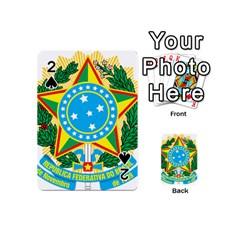 Coat of Arms of Brazil, 1971-1992 Playing Cards 54 (Mini)