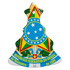 Coat of Arms of Brazil, 1971-1992 Christmas Tree Ornament (2 Sides)