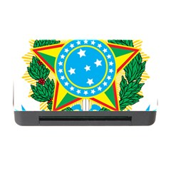 Coat of Arms of Brazil, 1971-1992 Memory Card Reader with CF