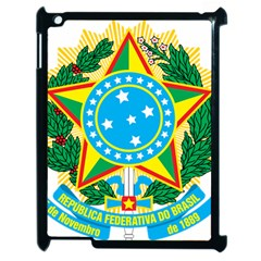 Coat of Arms of Brazil, 1971-1992 Apple iPad 2 Case (Black)
