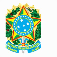 Coat of Arms of Brazil, 1971-1992 Large Garden Flag (Two Sides)