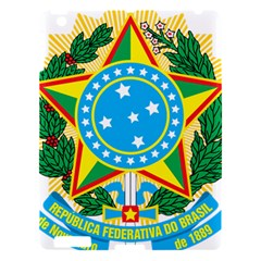 Coat of Arms of Brazil, 1971-1992 Apple iPad 3/4 Hardshell Case