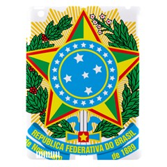 Coat of Arms of Brazil, 1971-1992 Apple iPad 3/4 Hardshell Case (Compatible with Smart Cover)