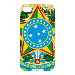 Coat of Arms of Brazil, 1971-1992 Apple iPhone 4/4S Premium Hardshell Case