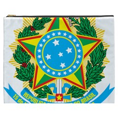 Coat of Arms of Brazil, 1971-1992 Cosmetic Bag (XXXL)