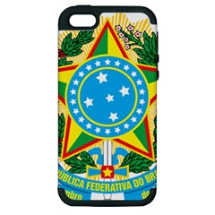 Coat of Arms of Brazil, 1971-1992 Apple iPhone 5 Hardshell Case (PC+Silicone)