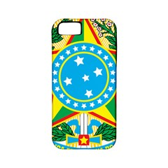 Coat of Arms of Brazil, 1971-1992 Apple iPhone 5 Classic Hardshell Case (PC+Silicone)