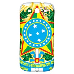 Coat of Arms of Brazil, 1971-1992 Samsung Galaxy S3 S III Classic Hardshell Back Case