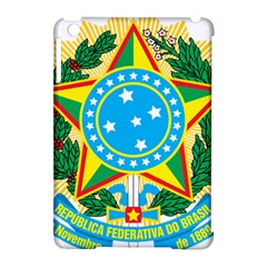 Coat of Arms of Brazil, 1971-1992 Apple iPad Mini Hardshell Case (Compatible with Smart Cover)