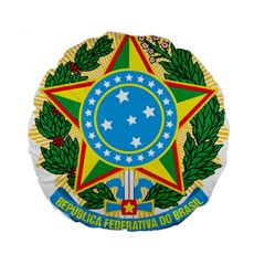 Coat of Arms of Brazil, 1971-1992 Standard 15  Premium Round Cushions